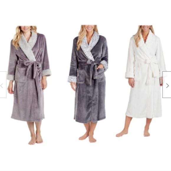 CAROLE HOCHMAN Other - Carole Hochman Ladies Plush Wrap Robe - Size&Color
